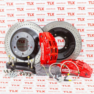 Touring Big Brake Kit / Red Drilled Front / 82.874.6D00.72